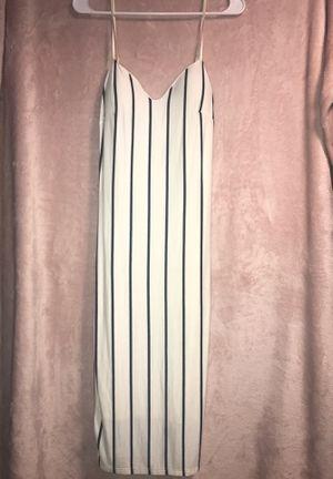 Fashion Nova Knee length stipe dress. for Sale in Falls Church, VA