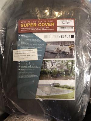 SUPER COVER 30'x50' for Boat, RV, Pool..Brand new for Sale in Stockton, CA