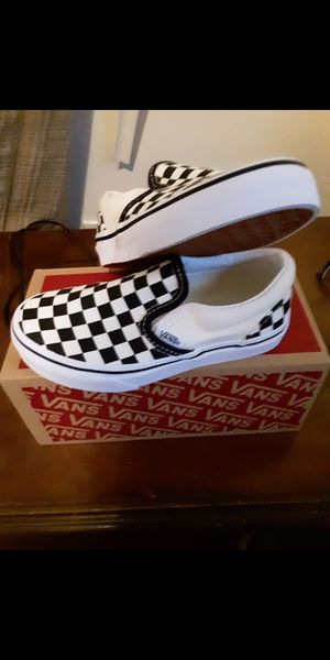 Kids size 12 brand-new vans never worn for Sale in Cleveland, OH
