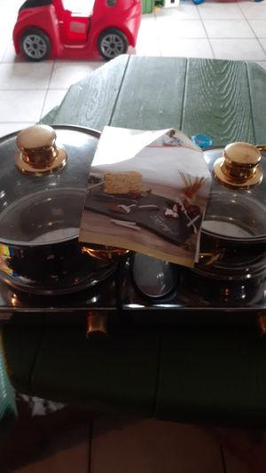 Wolfgang puck two pot warmer for Sale in Hollywood, FL