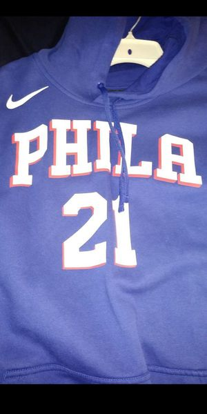 Joel Embid Sixers hoodie jersey xxl for Sale in Ravenna, OH