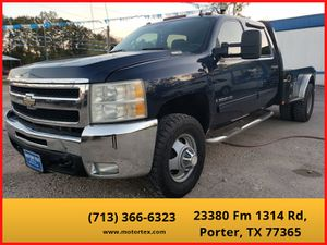 2009 Chevrolet Silverado 3500 HD Crew Cab for Sale in Porter, TX
