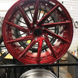 """BLACK FRIDAY SPECIALS 19"""" Staggered Directional Candy Red Wheels Rims Tires 5x114 Fit Honda Acura Lexus Toyota Infiniti Nissan Tlx Tsx Tl Package Deal for Sale in Queens, NY"""