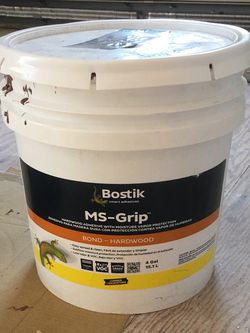 Bostik MS Grip Adhesive - 4 gallons for Sale in Plymouth,  MA