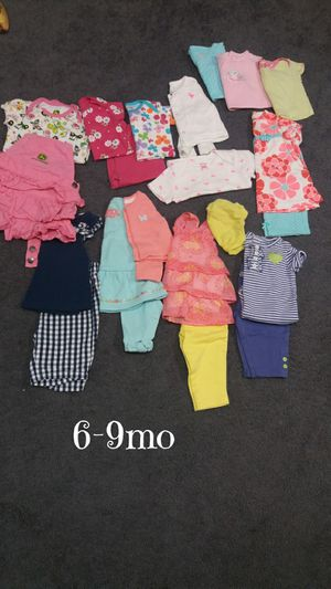 Baby girls 6-9mo spring/summer, everything clean and in wonderful condition!! for Sale in Monroeville, PA
