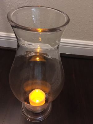 Candle cover / holder (thick glass) for Sale in Boca Raton, FL