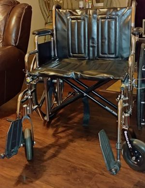 Drive Heavy duty stainless steel Bariatric wheelchair for Sale in New Port Richey, FL