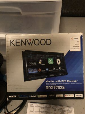Kenwood DVD Receiver/Speaker Car Audio Bundle for Sale in Queen Creek, AZ