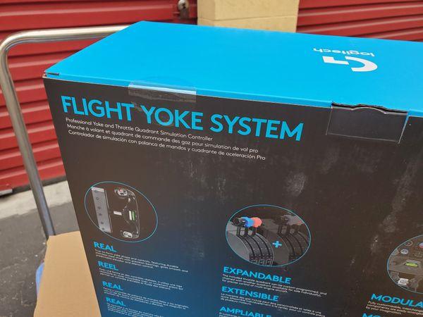Logitech G Flight Yoke System