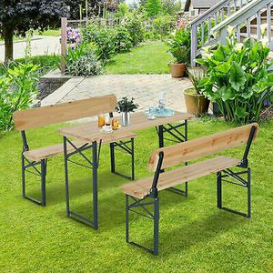 3pc Folding Picnic Table Home Garden Outdoor Camping Use for Sale in Los Angeles, CA