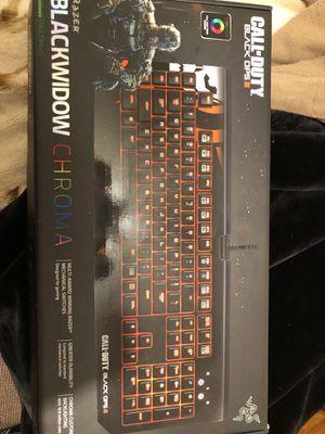 Razor BlackWidow Chroma BO3 Edition for Sale in Fresno, CA
