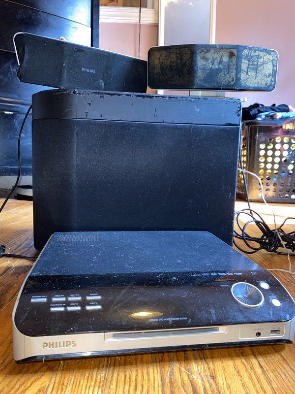 Phillips dvd stereo system