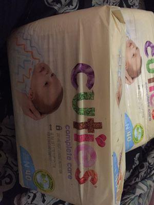 Cuties (Newborn) Diapers for Sale in Philadelphia, PA