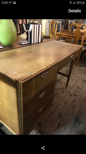Vintage Ash wood Desk for Sale in San Diego, CA