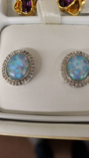 Opals earrings for Sale in Pepper Pike, OH
