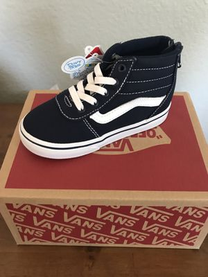 Toddler High top vans sizes 6-10 (Navy) for Sale in Oceanside ee253efd7