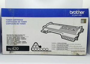 Genuine Brother TN-420 Black Toner Cartridge - NEW Factory Sealed for Sale in Harrisonburg, VA