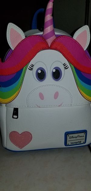 Disney loungefly rainbow unicorn backpack for Sale in Chino, CA