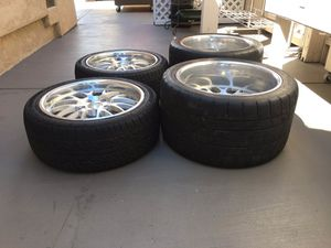 """18"""" boze forged wheels for Sale in San Jose, CA"""