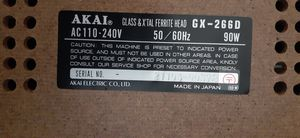 Old school Akai home stereo system like new for Sale in Martinez, CA