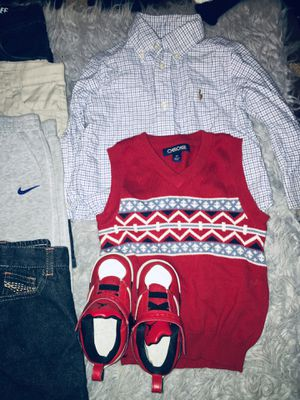 2T clothes w/shoes for Sale in Fairfax, VA