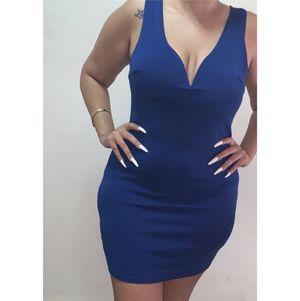 Royal Blue Dress by Charlotte Russe Sz XL but read description box for Sale in East Stroudsburg, PA