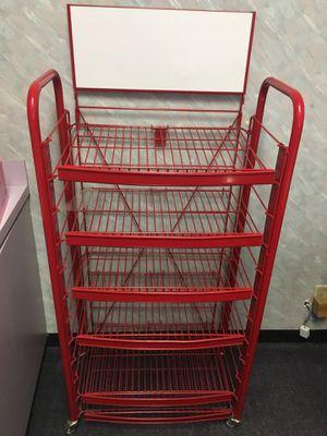 Shelves metal display rack for Sale in Las Vegas, NV