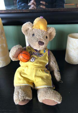 Kobe Bryant vintage teddy bear for Sale in Los Angeles, CA
