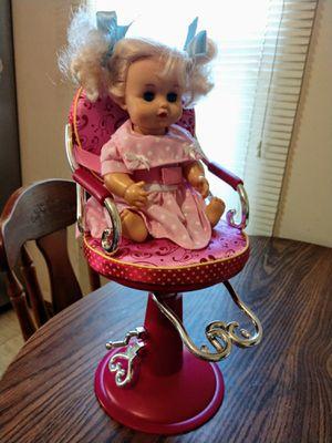 Doll saloon beauty chair for Sale in Wichita, KS