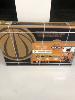 "NIB Lifetime 54"" Steel-Framed Basketball Hoop for Sale in Tempe, AZ"