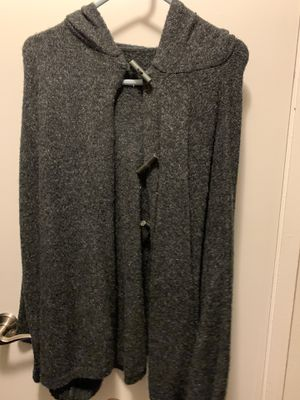 Grey poncho for Sale in Anaheim, CA