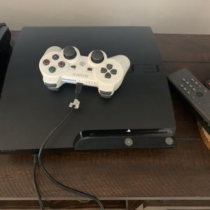 PS3 with Two Games for Sale in Hollywood, FL
