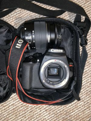 Canon EOS Rebel T6. GREAT CHRISTMAS GIFT! for Sale in Hampton, VA