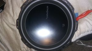 EXCELLENT CONDITION ROCKFORD FOSGATE T1 12INCH SUBWOOFER for Sale in Federal Way, WA