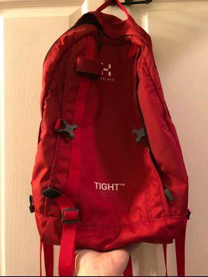 Red Haglofs Tight Sports backpack, hiking for Sale in Laguna Beach, CA