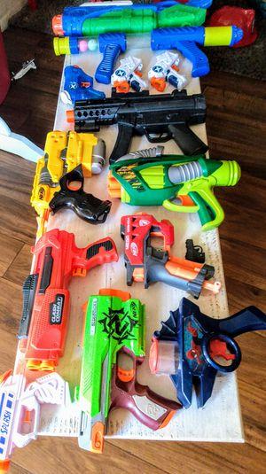 Nerf & Water Guns- SuperSoaker Bundle-$20 total for Sale in Glendale, AZ