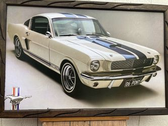 Ford Mustang Frames Home Decor Cuadros Man Cave for Sale in Pico Rivera,  CA