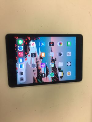 Apple ipad mini 4th gen 16gb wifi unlock with charger for Sale in Houston, TX