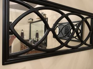 Two Decorative Wall mirrors- brown frame for Sale in Smyrna, GA