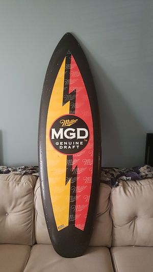 MGD Beer Surfboard for Sale in Greensboro, NC