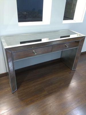 Adiva Mirrored Console Table/Desk for Sale in Boca Raton, FL