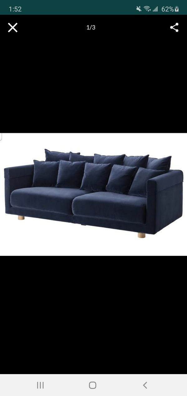Spacious, Comfortable Navy Blue Sofa/Couch !!!