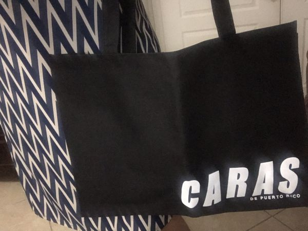 New Heavy duty zipper tote bag (Quantities available)