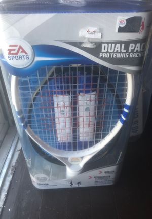 Wii dual pack 2 pro tennis rackets for Sale in Campbell, CA
