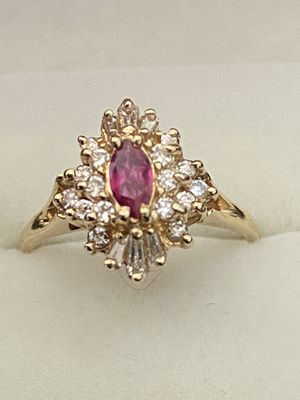14k Ruby and Diamond Ring for Sale in Mt. Juliet, TN