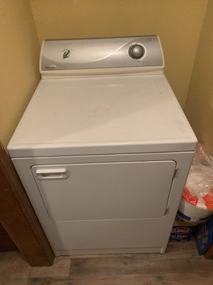 Whirlpool washer & dryer electric for Sale in Oklahoma City, OK