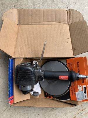 "6"" Dual Action Air Sander and discs for Sale in Rensselaer, NY"