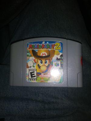 Mario Party 2 Nintendo 64 for Sale in West Sacramento, CA