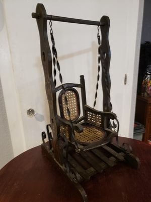 Antique doll swing for Sale in Fontana, CA