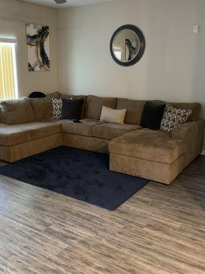 Oversized sectional. for Sale in Avondale, AZ